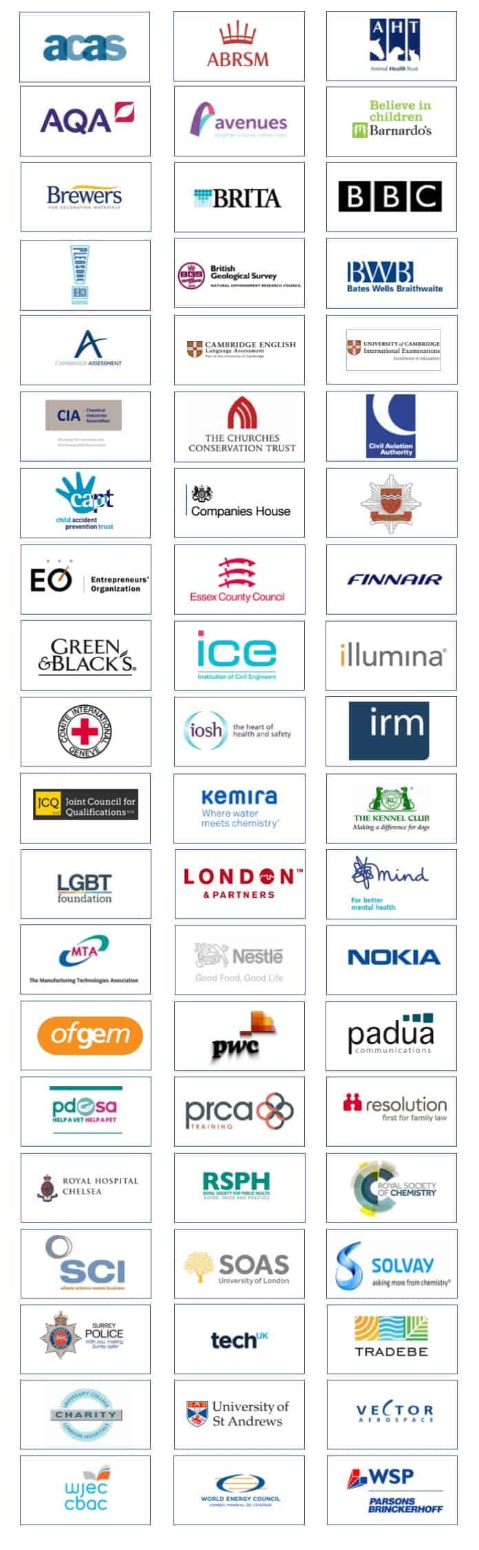 Rough House client logos