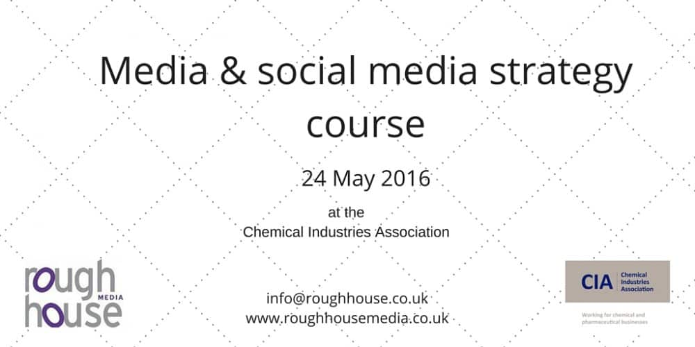 Media and social media strategy course