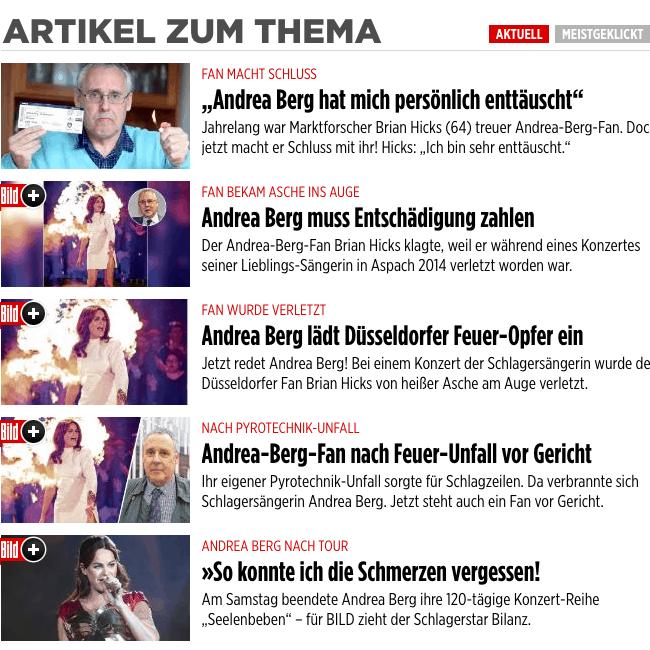 Andrea Berg headlines