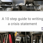 10 step guide to writing a crisis statement